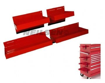 4pc Magnetic Tool Box Tray Set Neilsen CT1345